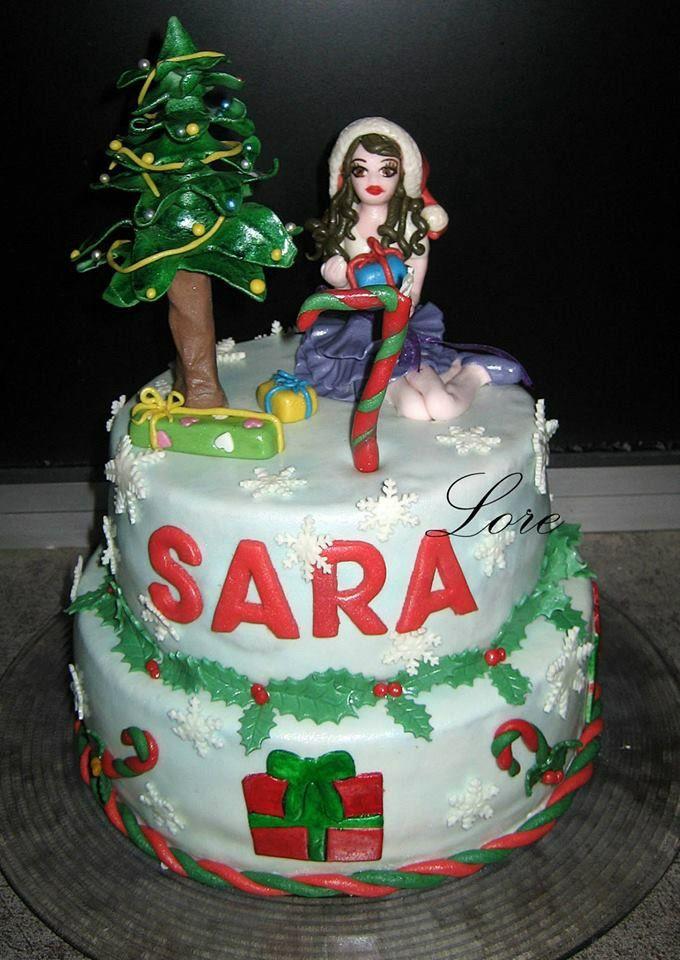 Tarta Violetta en Navidad