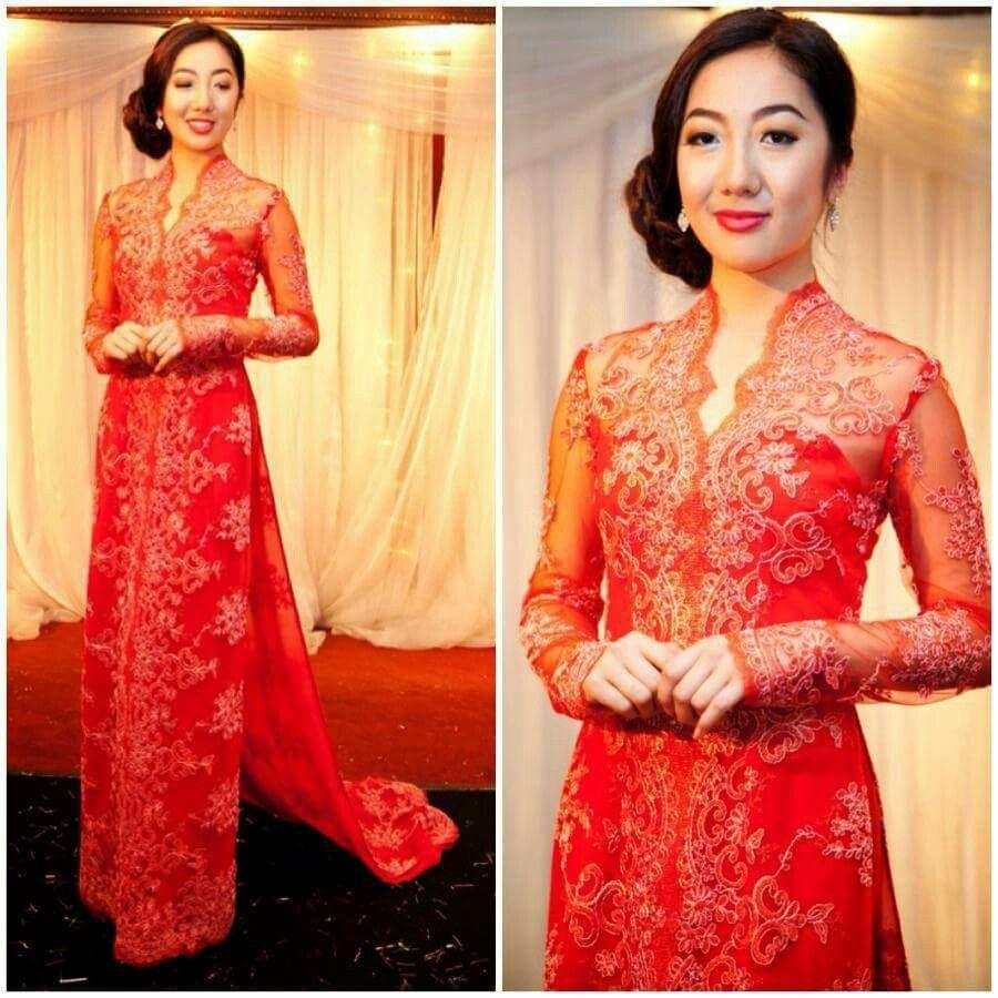 Pin by Margy Rosé on Ao dai cuoi Vietnamese wedding