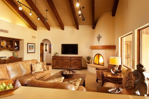 16 Gorgeous Living Room Design Ideas In Mediterranean Style Family Room Design Living Room Designs Cream Living Room Furniture Spanish decorating ideas living rooms