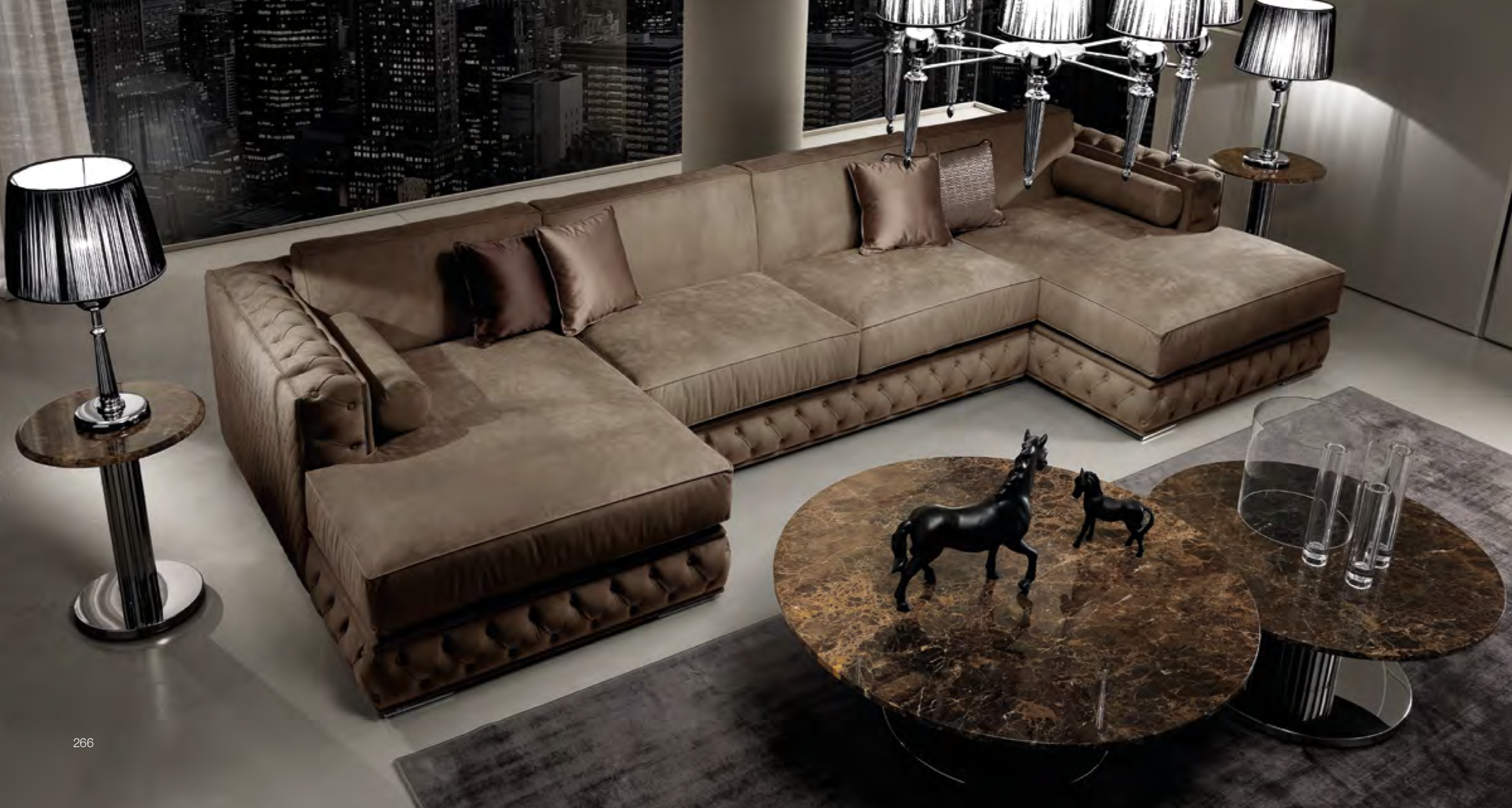 Modular Sofa Sectional Custom Configurations Available Along With