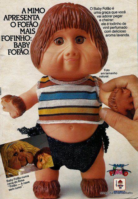 Boneco fofão baby novembro 1989