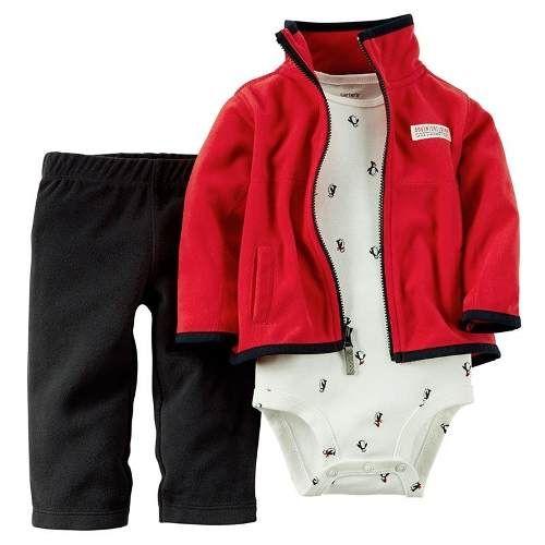 Conjuntos De Invierno Micropolar Carters Nena Y Varon 600 00 Ninas Carters Baby Ropa Para Ninos Varones Ropa Para Bebe Varones