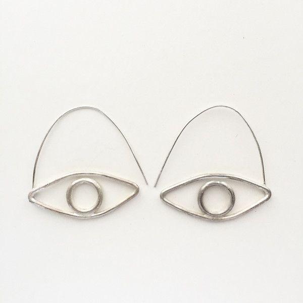 Eye Earrings | Ohrschmuck, Schmuck und Draht