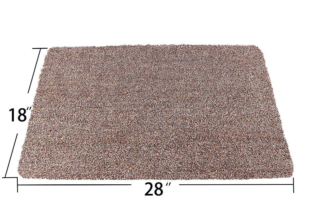 Kernorv Super Absorbs Mud Room Rug Nonslip Dirt Trapper Mat Low Profile Indoor Doormat Dirt Trapper Floor Mats 18x 28 Shoes With Images Entrance Rug Bedroom Rug Room Rugs