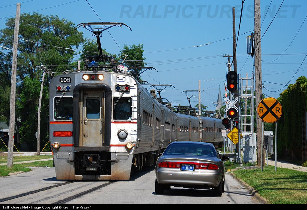 Nictd 108 chicago southshore south bend railroad