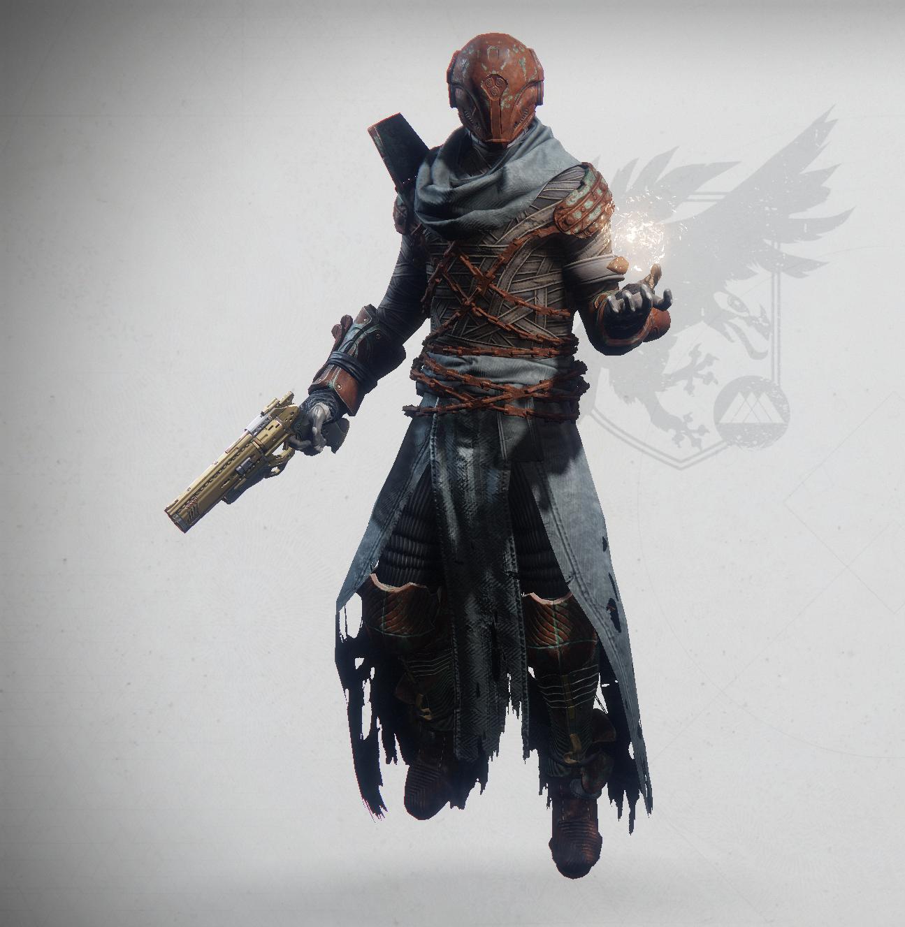 Rusty Warlock Character Design Samurai Gear Samurai