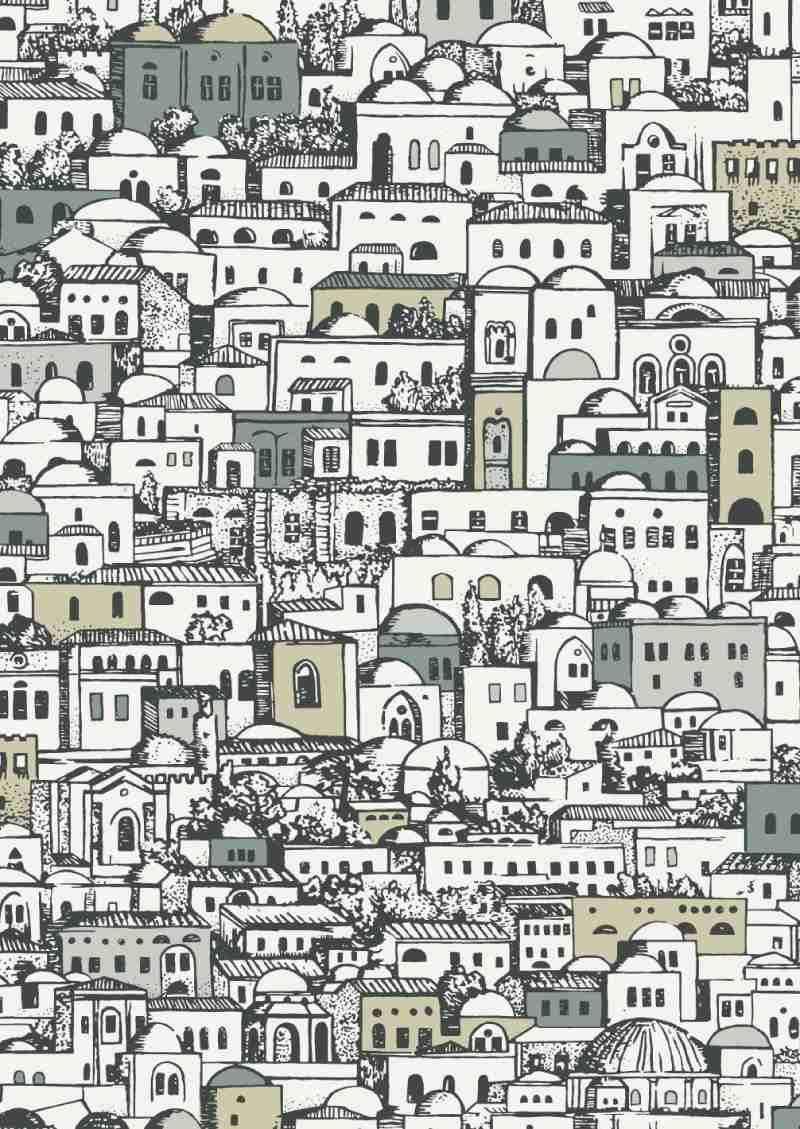 Mediterranea Wallpaper Fornasetti
