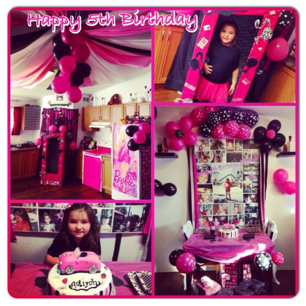 DIY Barbie Birthday   Barbie birthday, Kids party, Happy ... (1000 x 1000 Pixel)