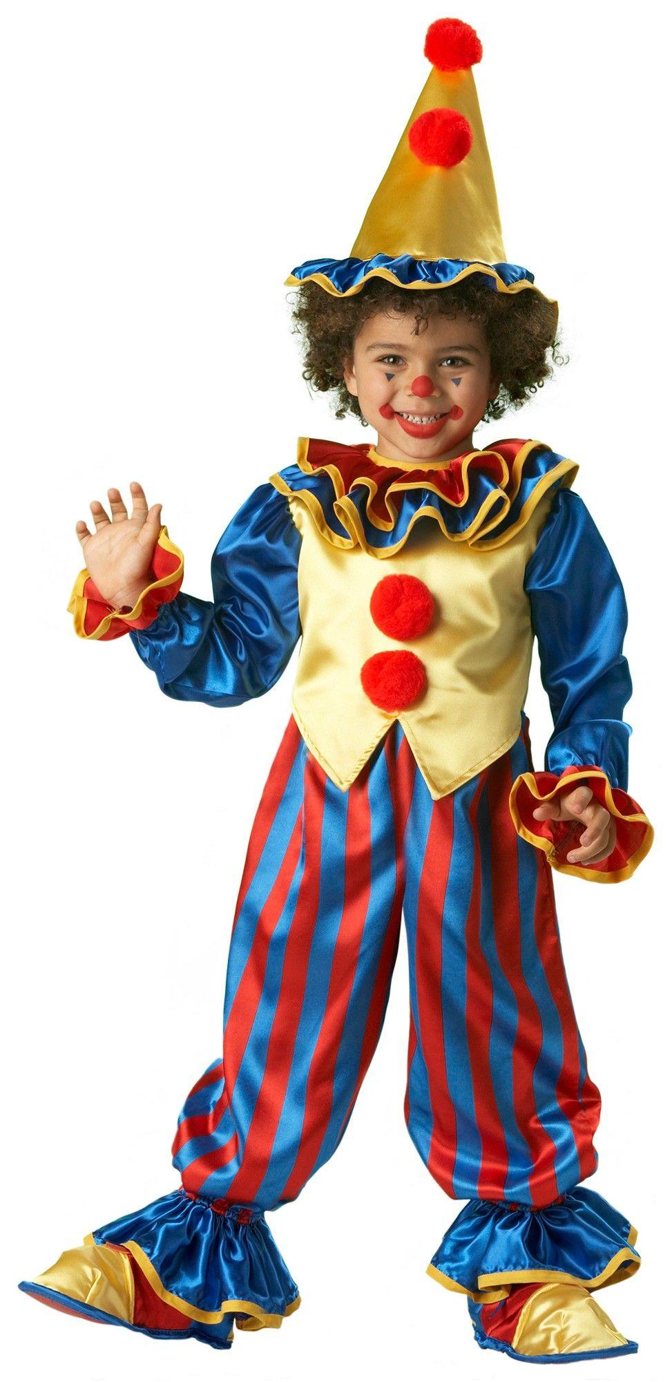 Super Deluxe Clowninu0027 Around Toddler Clown Costume - Clown Costumes  sc 1 st  Pinterest & Disfraz de Payaso para Niño - más que el disfraz me gusta el ...