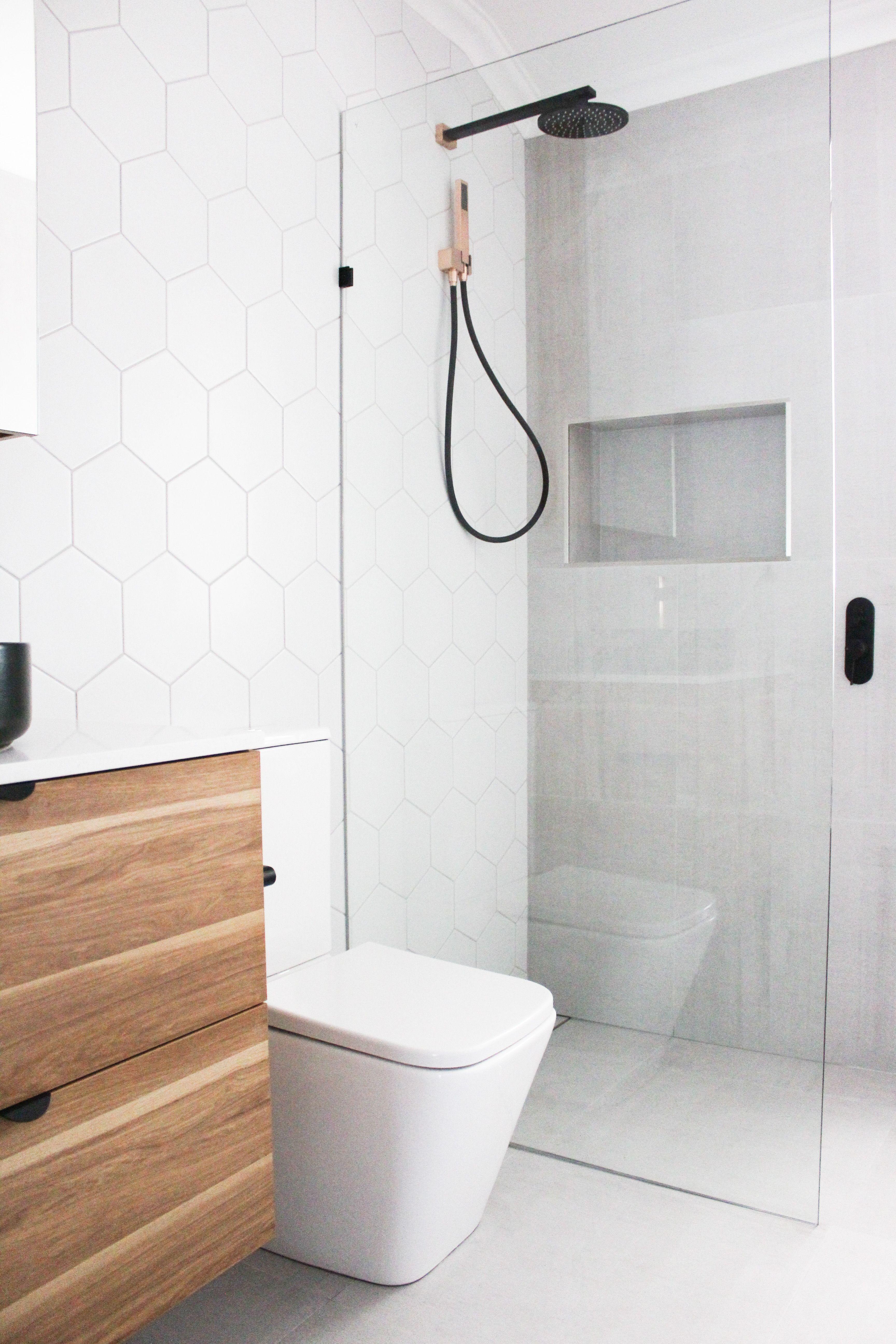 Hexagon Bathroom Tiles Bathroom Renovations Perth Walk In Shower Bathroom Renovation Trends