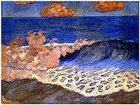 Georges Lacombe: Marine bleue, 1893.