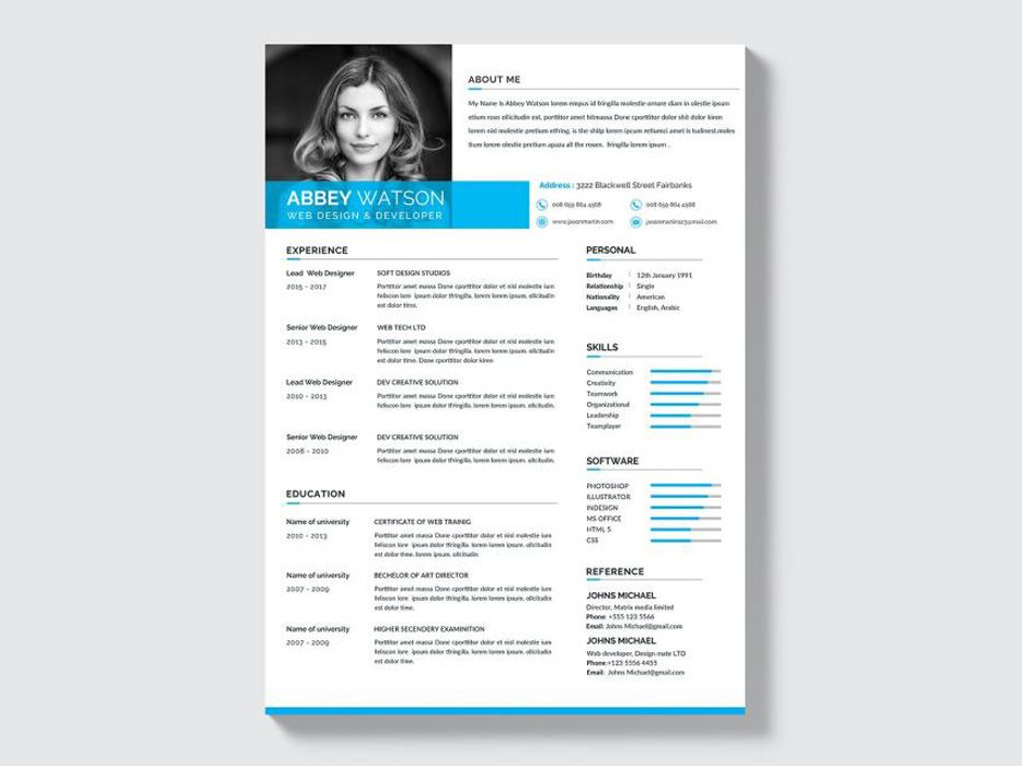 Free Formal Resume Template Free File Freebie Resume Templates