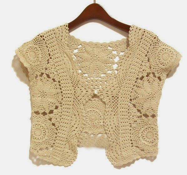 Irish crochet &: Bolero