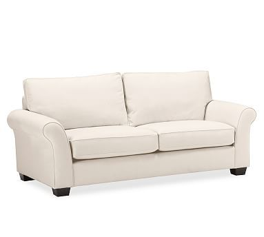 Pb Comfort Eco Roll Arm Upholstered Sofa Living Spaces