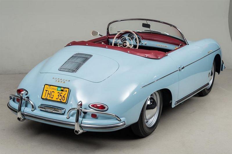 1958 Porsche 356 Speedster T2 A 1600 CC FLAT FOUR