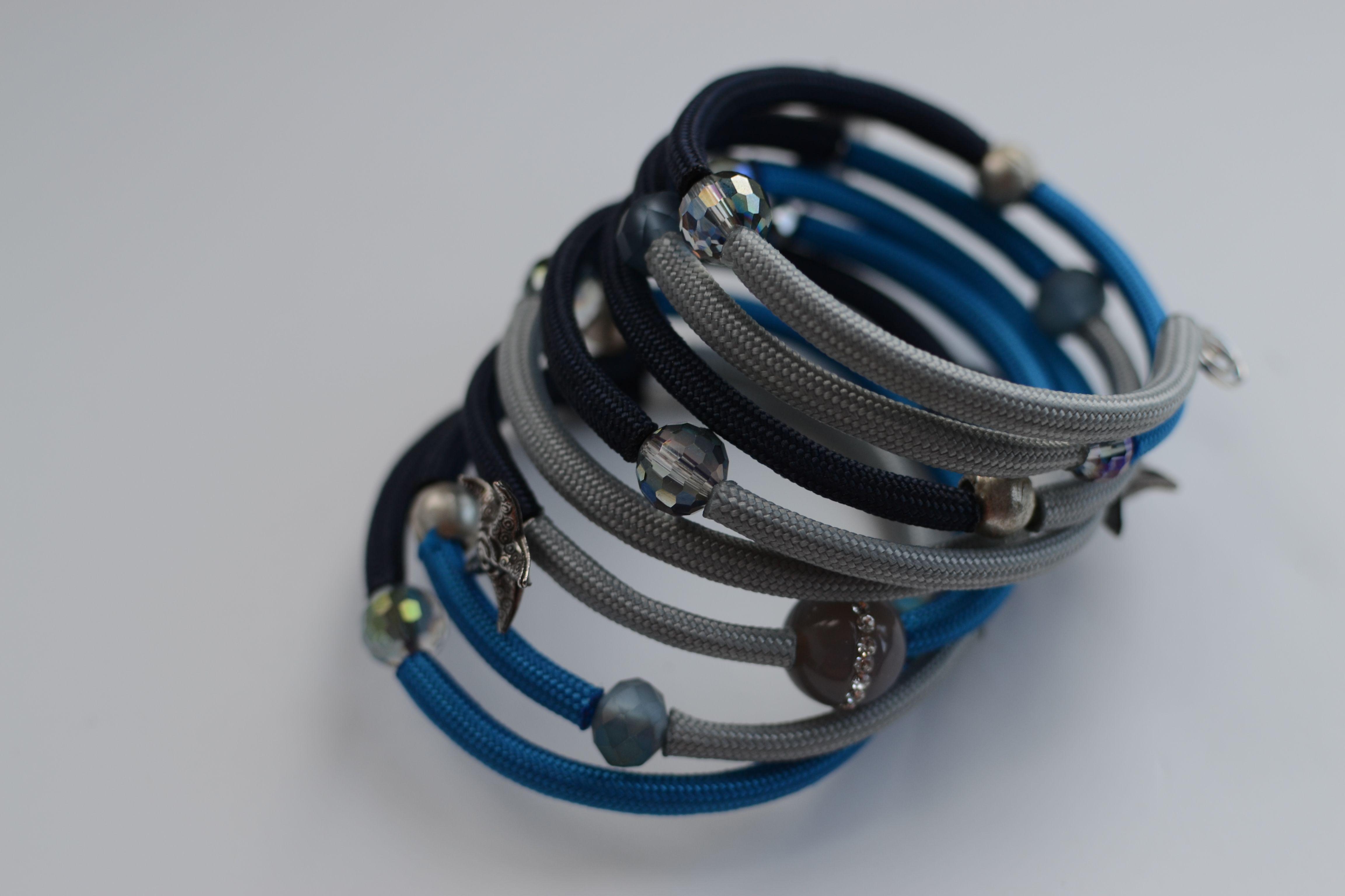 Ashley Bunting\'s Beachcomber\'s wrap around bracelet is made using ...