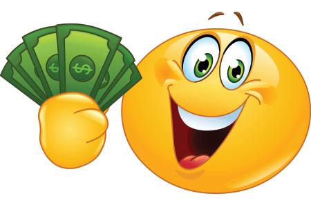 Cha-Ching Smiley | smileys | Money emoji, Happy emoticon
