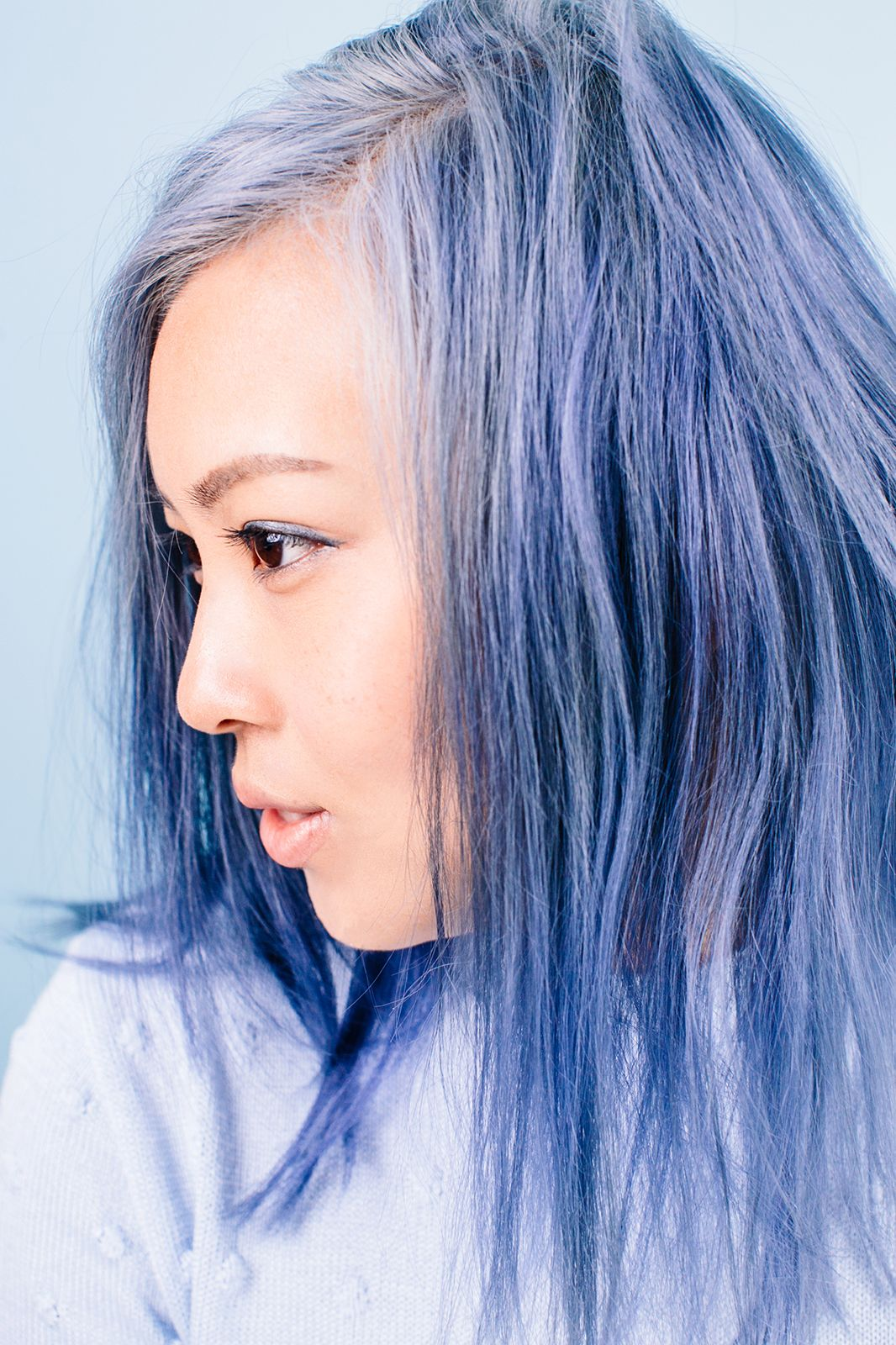 Pastel Hair Tips Black Women Asian Women Style Mai