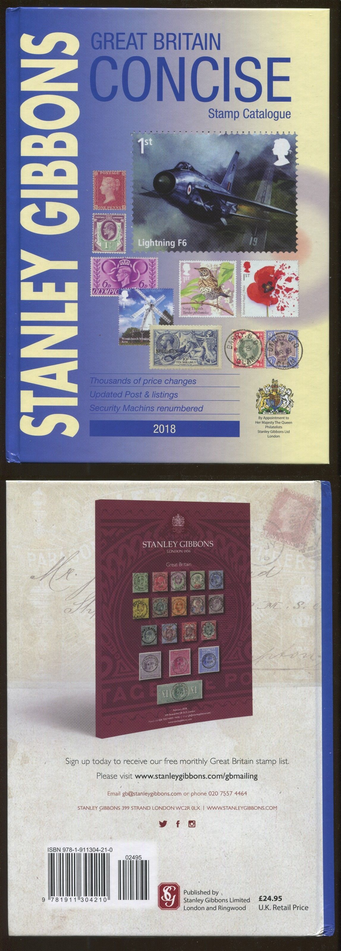 Publications 701: New 2018 Stanley Gibbons Great Britain Concise