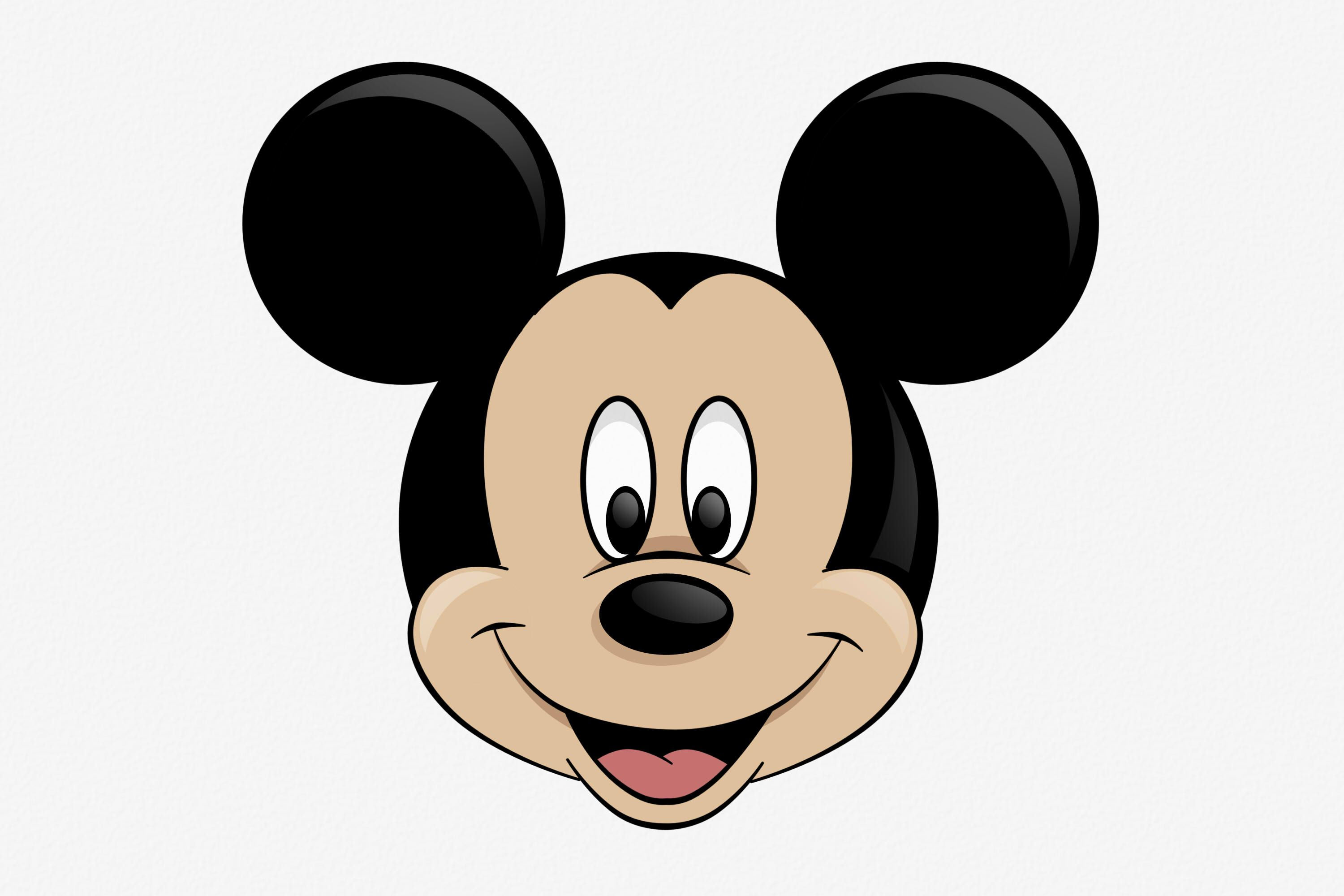 Draw Mickey Mouse | Mickey mouse drawings, Mickey mouse ...