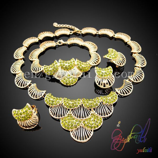 2014 New design jewelry sets 22k gold jewellery dubai $1 $14