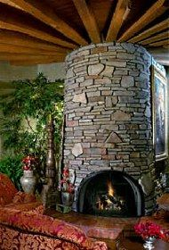 Fascinating fireplace!  I love the character and the renaissance feel.
