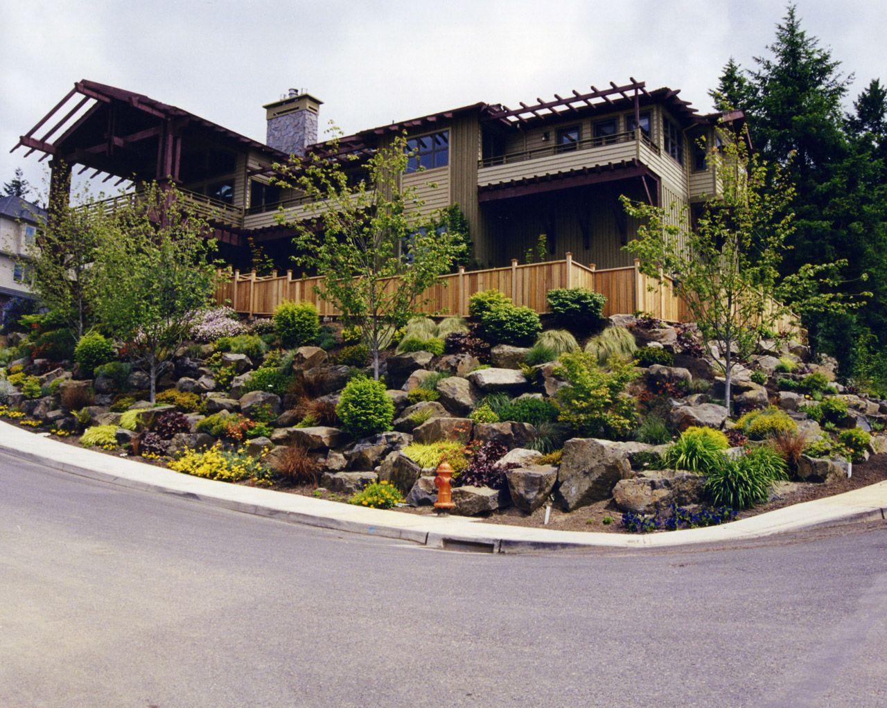 Hillside Rock Garden | Beautiful gardens | Pinterest | Discover ...