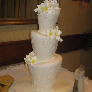 Our wedding cake.