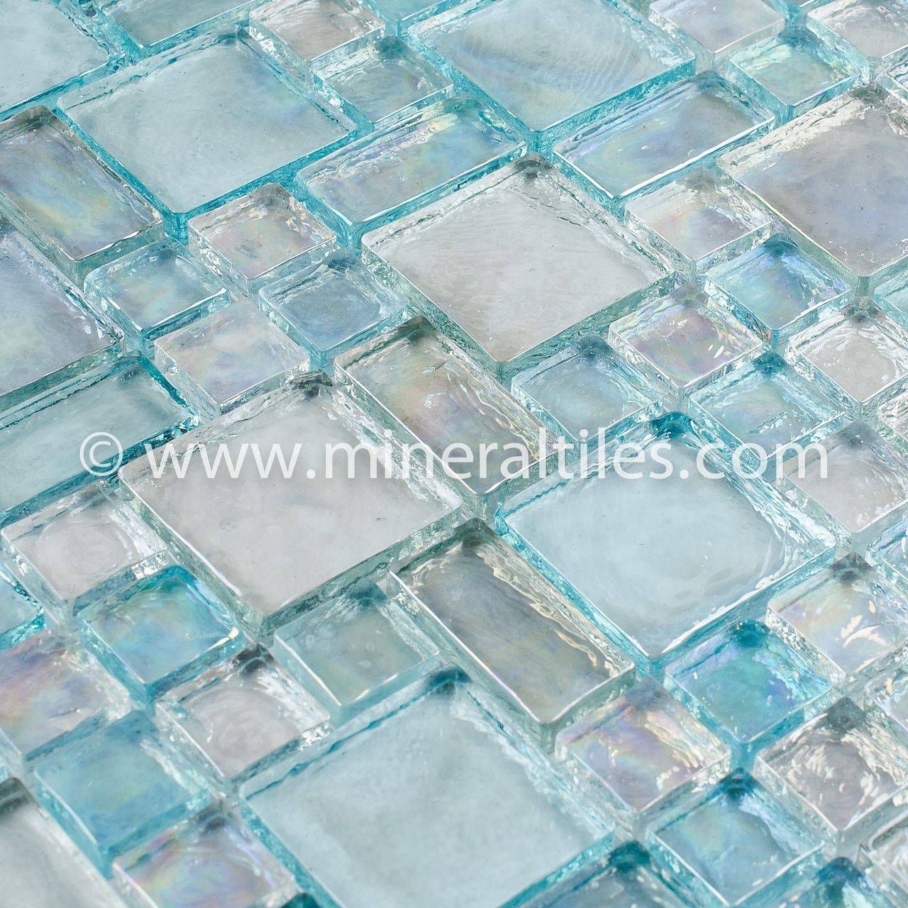 Pin by Mineral Tiles on Iridescent Glass Mosaic Tiles | Pinterest ...
