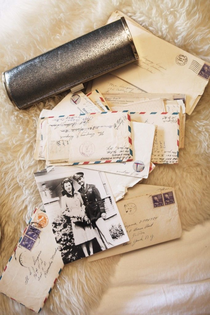Love Letters, with clutch and picture....