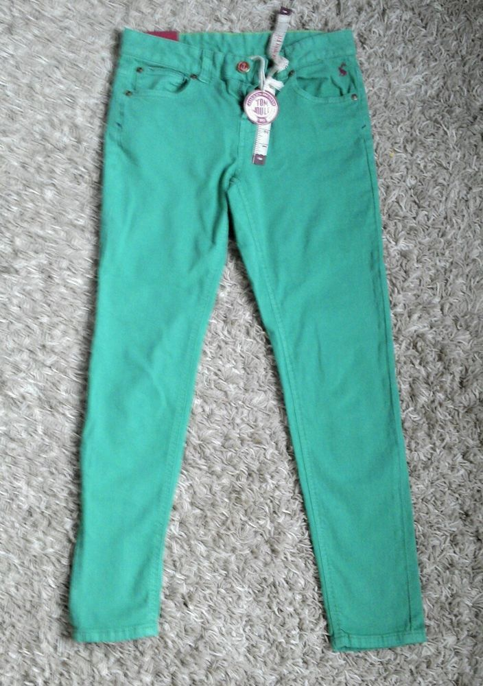8d285ccb9c6 JOULES - GREEN PERRY APPLE JEANS - SIZE 8 BNWT IN JOULES BAG ...