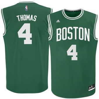 8196f5a20 Boston Celtics Isaiah Thomas adidas Kelly Green Basketball Jersey ...