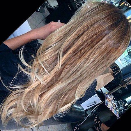 25 dunkelblonde lange Frisuren » Frisuren 2020 Neue Frisuren und Haarfarben #darkblondehair