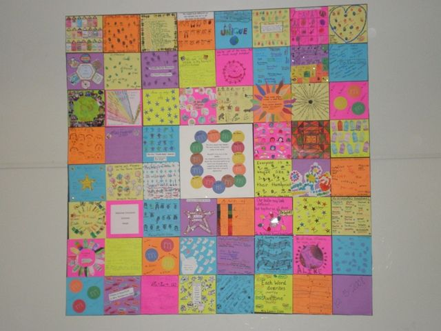 Creating A Pre K Kindness Quilt Google Search Project