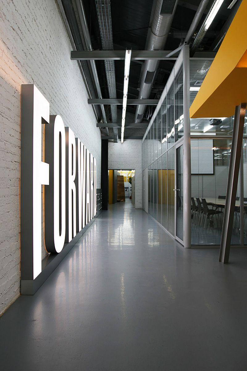 Office Tour Forward Media Group by za bor architects Architects