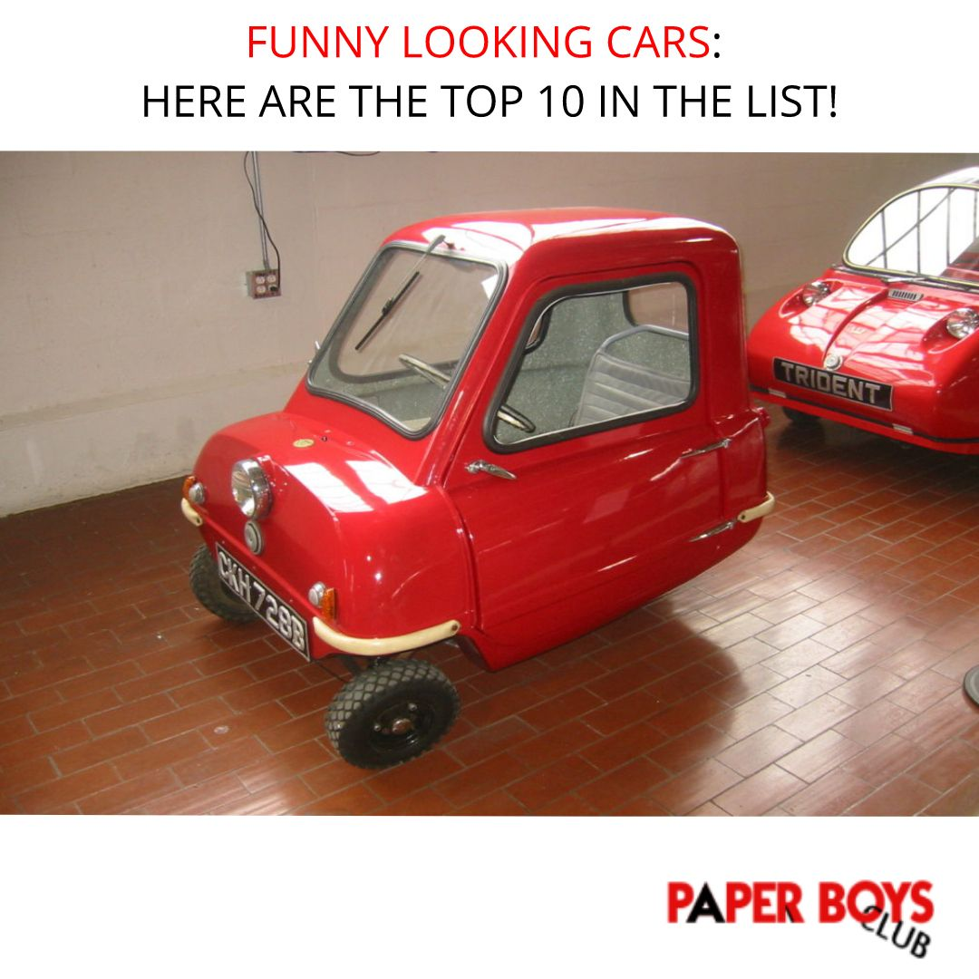 Funny Looking Cars: Here Are The Top 10 In The List