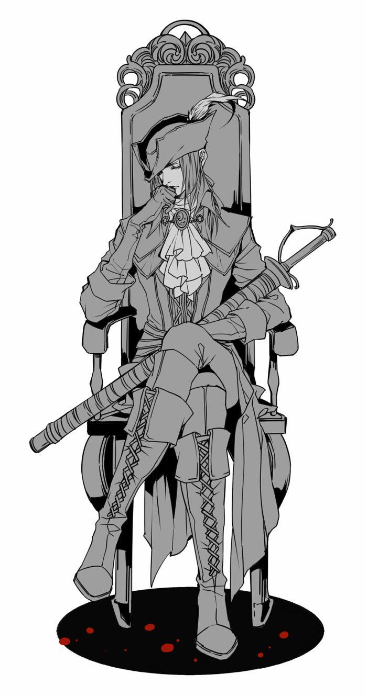 Lady Maria of the Astral Clocktower - Bloodborne - Image #2136552 -  Zerochan Anime Image