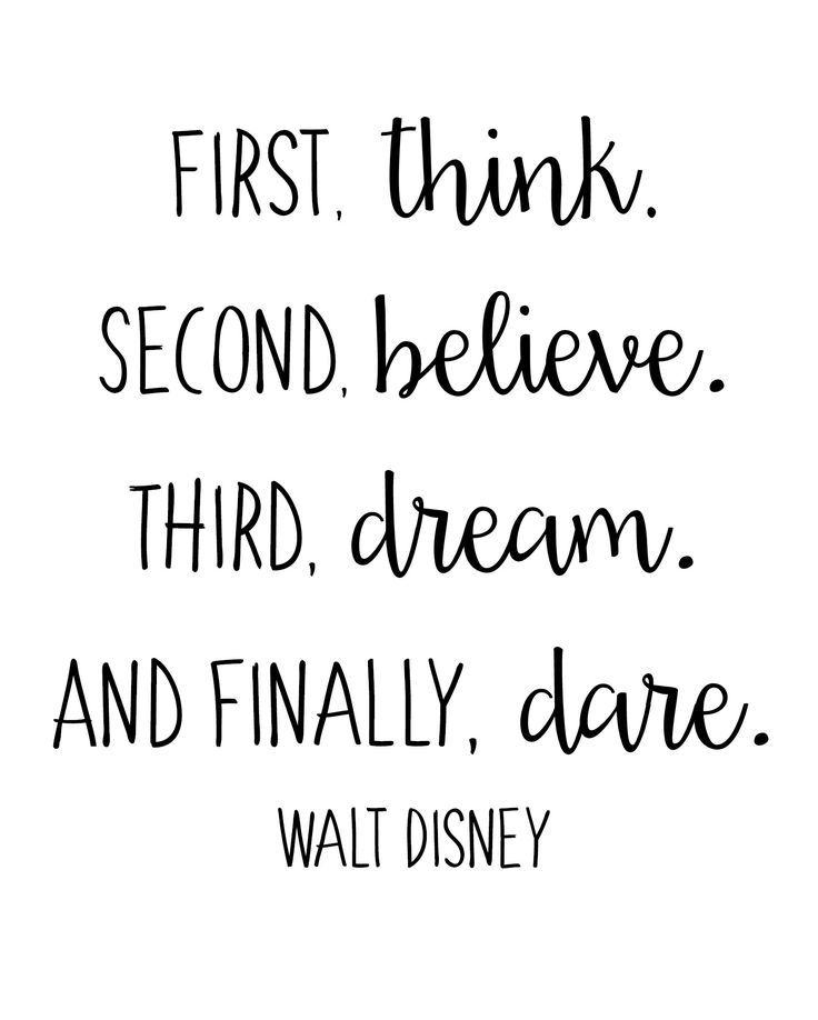 FREE Walt Disney Quote Printables - Houston Mommy and Lifestyle Blogger | Moms Without Answers