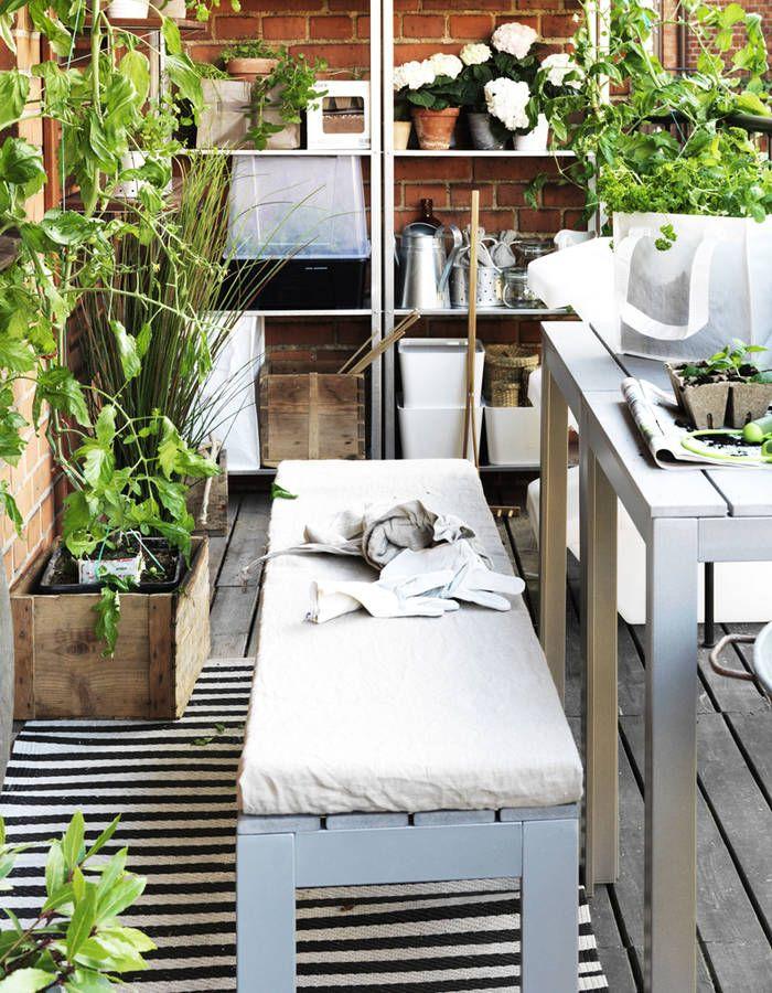 Salon de jardin pas cher : notre sélection de meubles canons pour le jardin - Elle Décoration ...