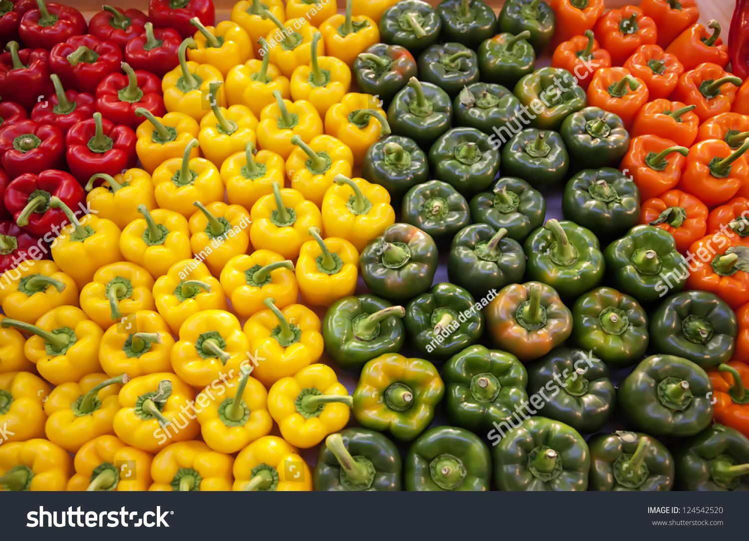 Background Of Four Color Of Paprika Ad Affiliate Background