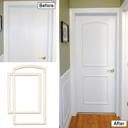 Ez Door 32 In Wide Trim Kit Comes With Caulk Patent Pending Template Frames And Adhesive For