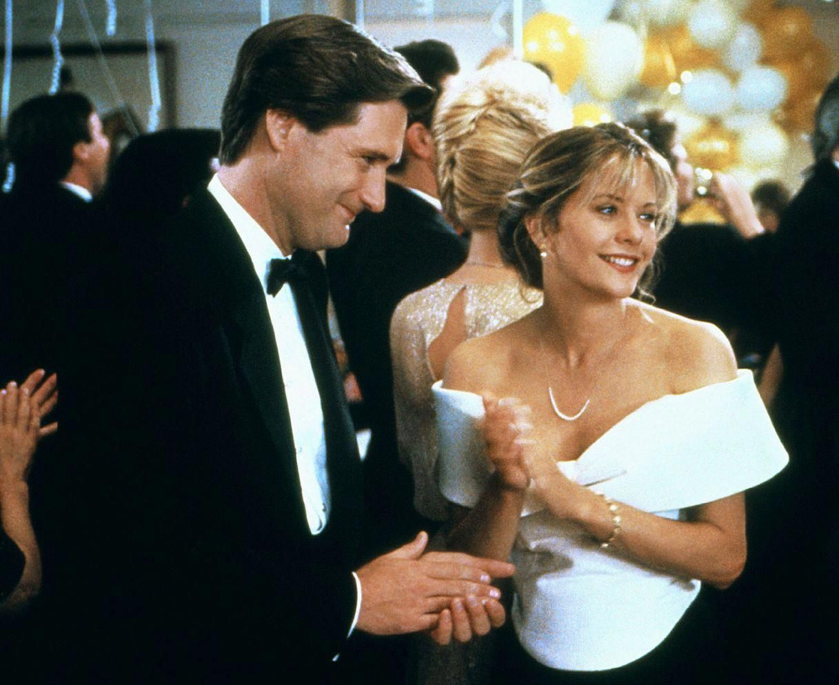 5c15342bd71 The Best New Year s Eve Party Outfits from 10 Iconic Movie Scenes -  Sleepless in Seattle