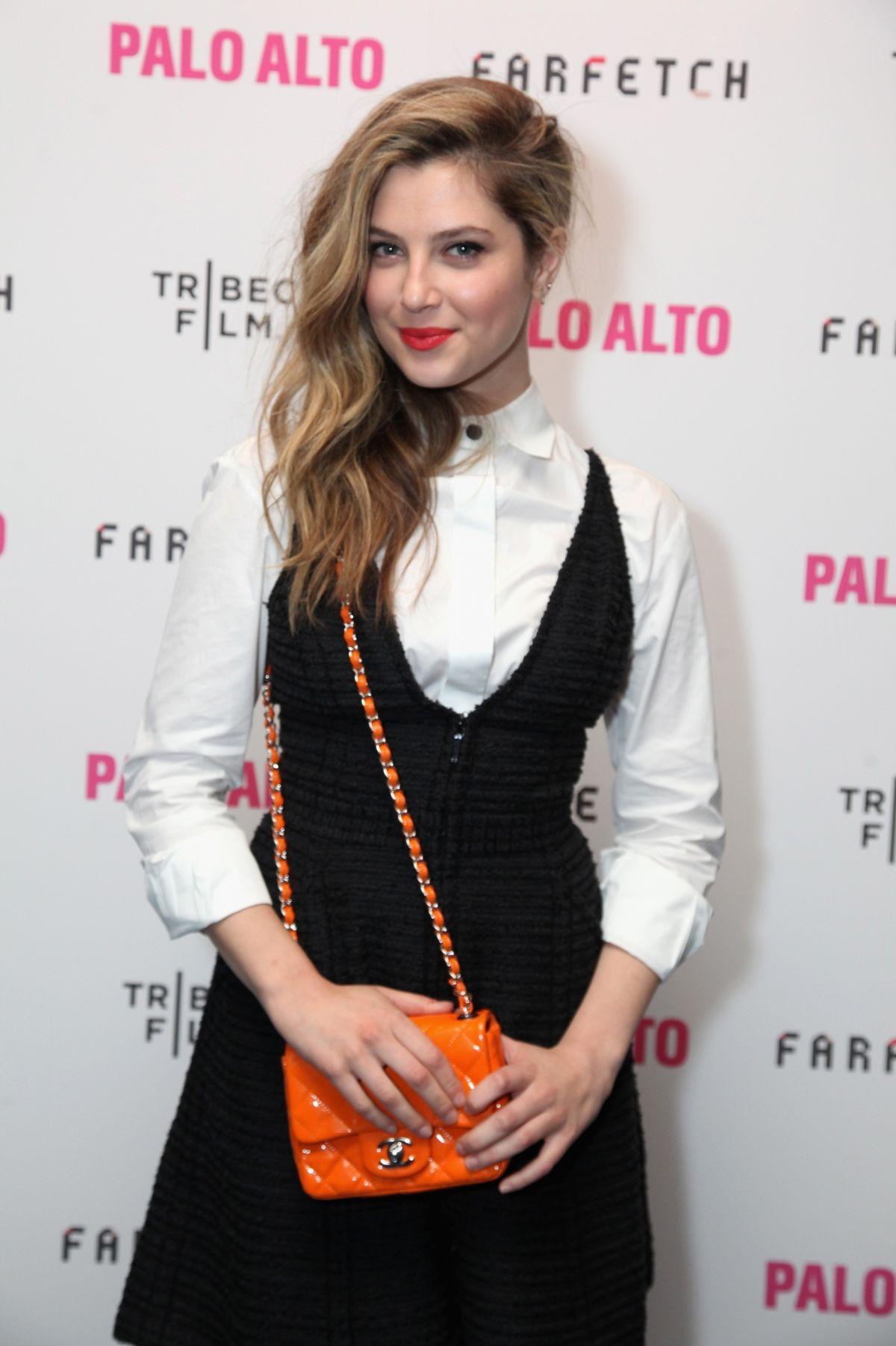 Zoe levin at palo alto premiere at tribeca film festival actresses