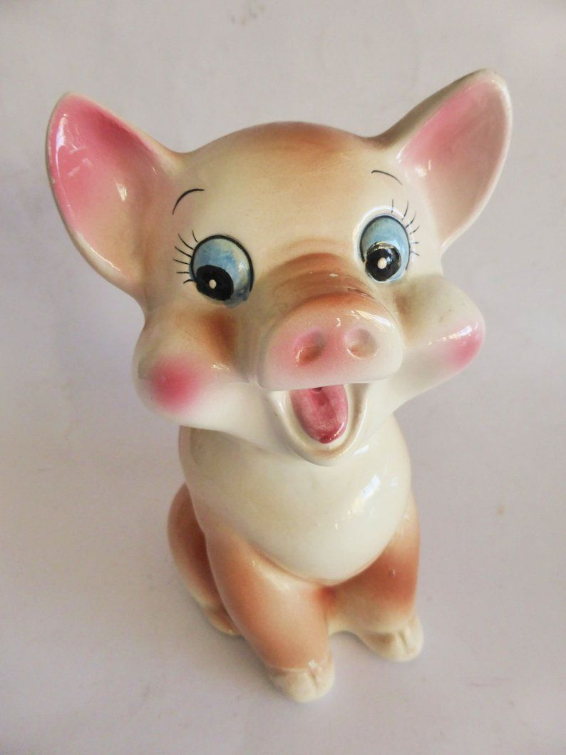 Mid Century Hand Painted Vintage Pig 1950s Kitchen Decor Etsy Pig Kitchen Decor Kitchen Decor Etsy Kitchen Decor Pictures