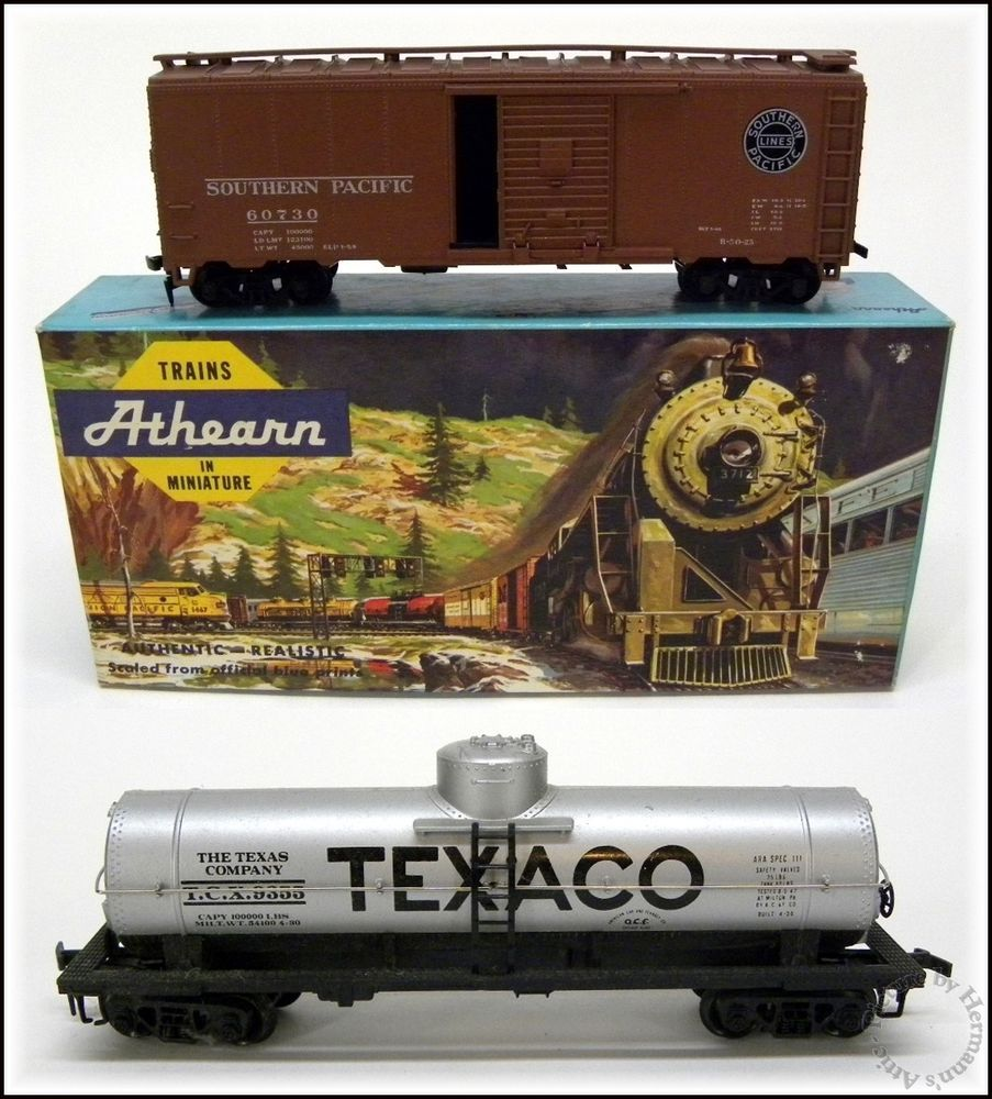 1960's Vintage Athearn HO Southern Pacific 40 Ft Box Car