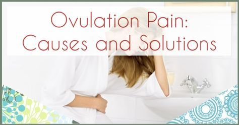 how to relieve ovulation pain naturally
