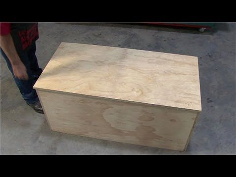 minecraft how to build a storage chest