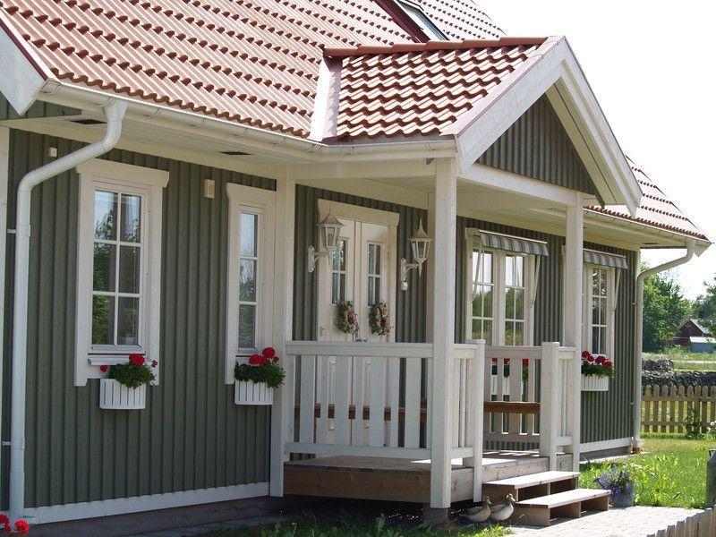 Schwedenhaus AG Das Original Veranda Holzhaus
