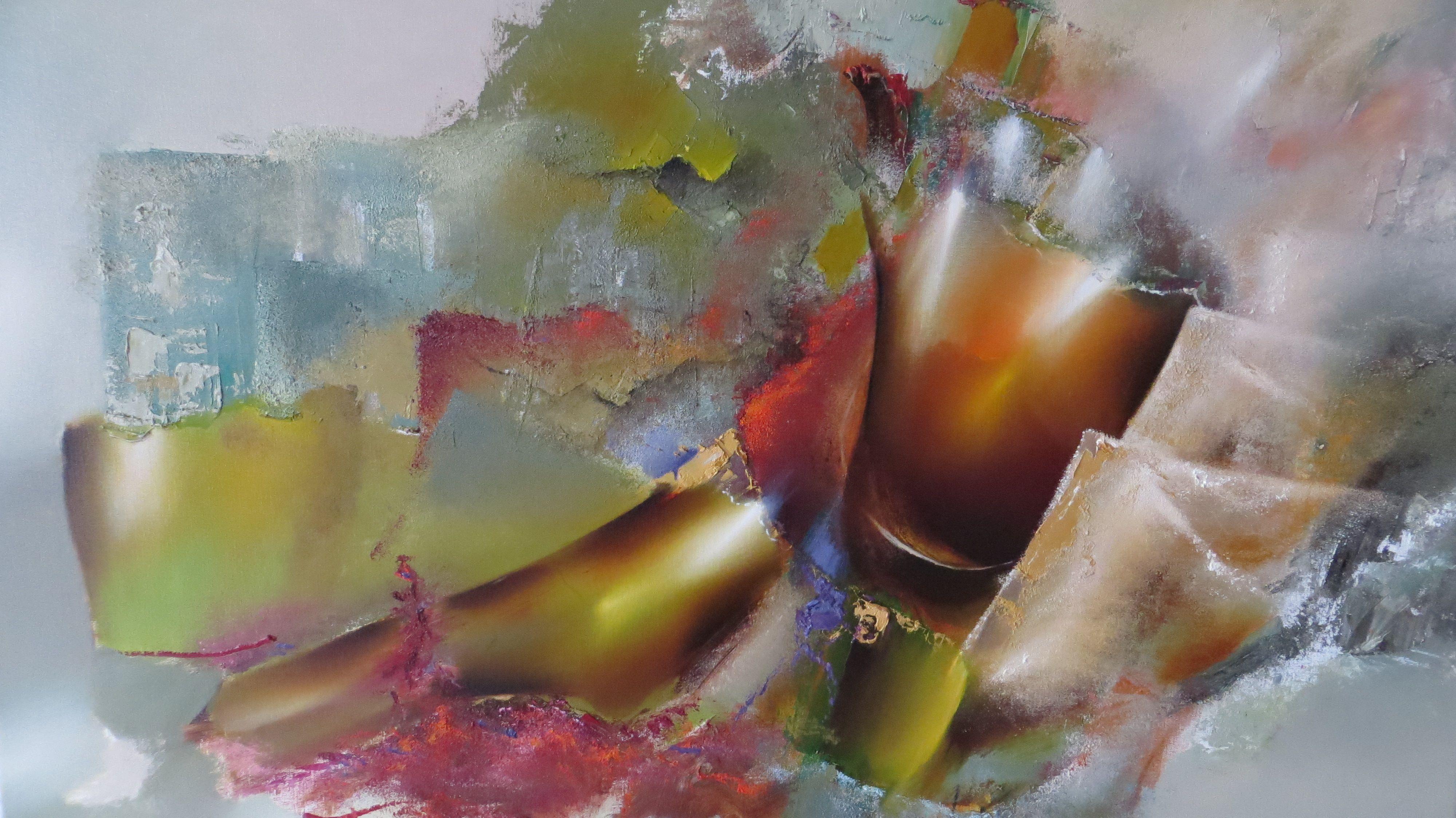 #Abstracte #schilderijen uit het LUXE-segment - uit atelier of 'in #opdracht - 100% tevredenheidsgarantie -   Vallei 120x160cm Olie op linnen 288 euro - 2060$  www.ariekoning.nl