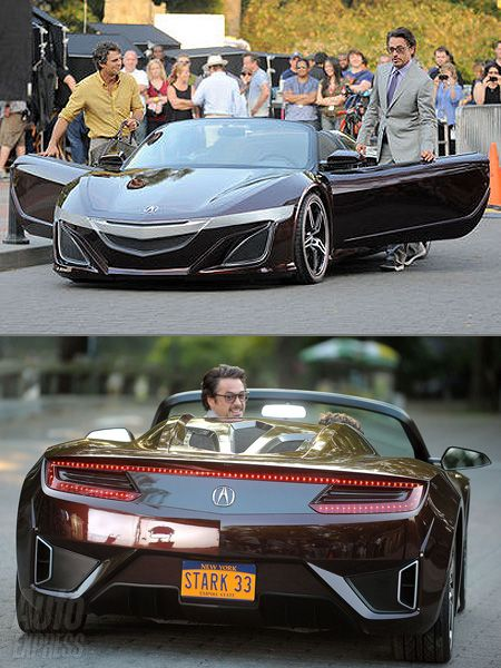 Tony Stark S Nsx Only The Best Smithtown Acura